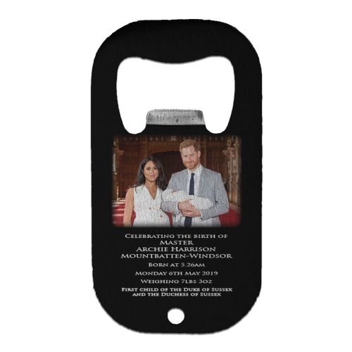 Royal Baby Master Archie Harrison Mountbatten-Windsor Stainless Steel Beer Bottle Opener